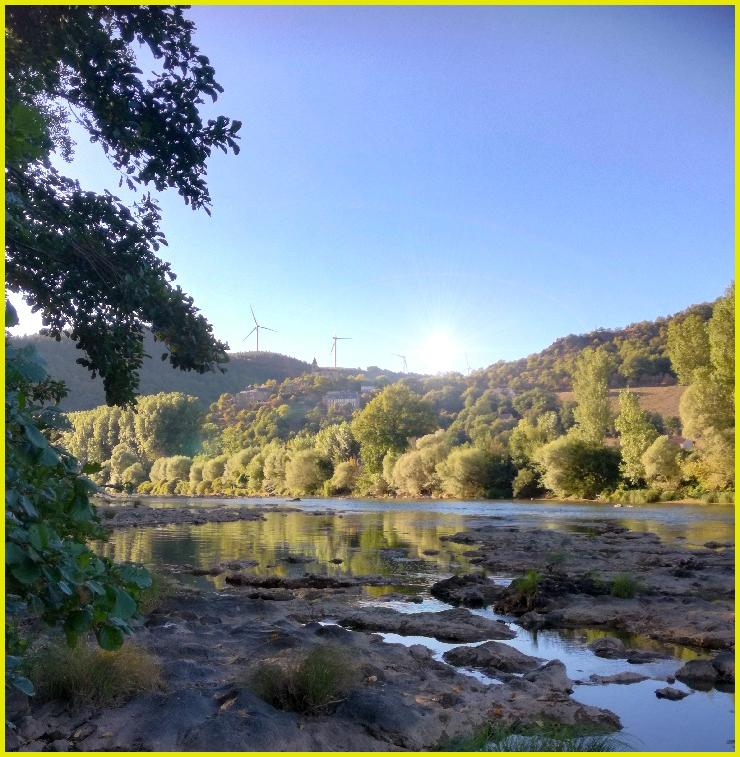 les berges du Tarn à Saint-André