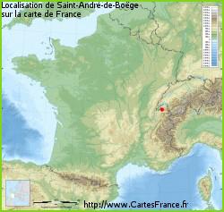 Saint-André-de-Boege en Savoie en 2020