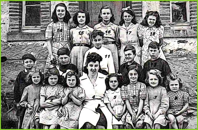 école de Saint-André vers 1945