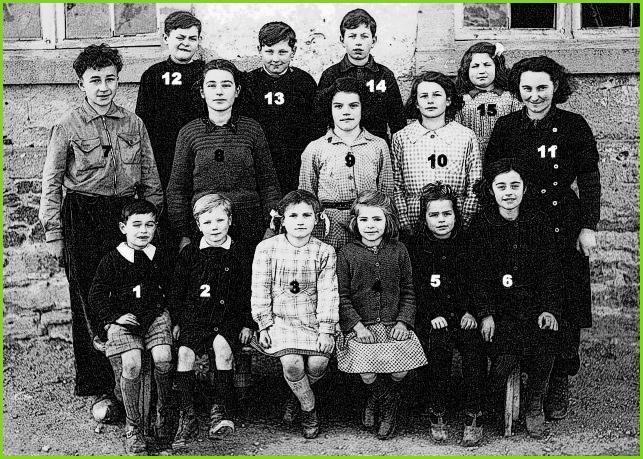 école de Saint-André 1948