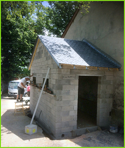 travaux toilettes publiques sur Saint-André