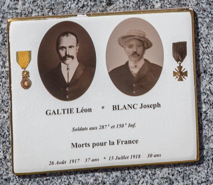 GALTIE Léon et BLANC Joseph