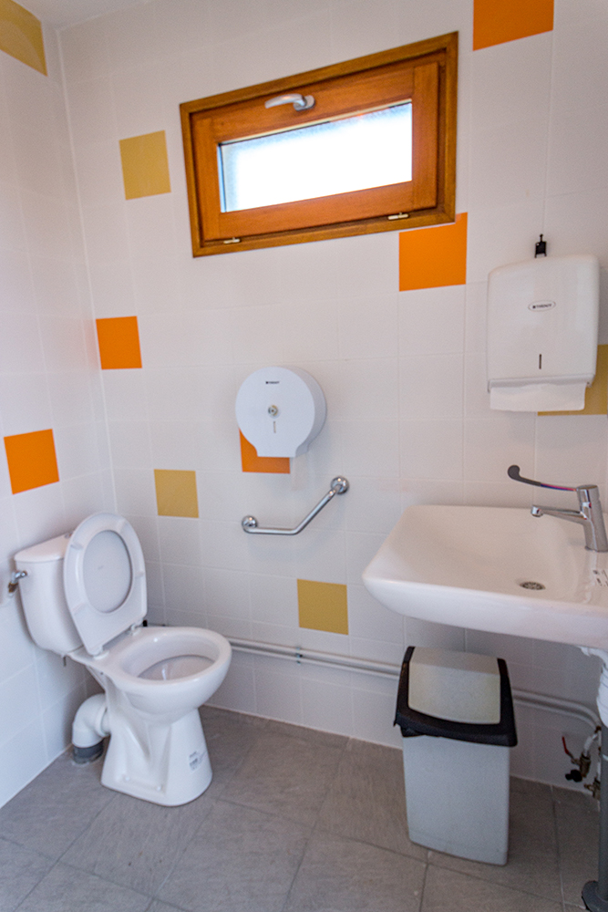 les toilettes publiques
