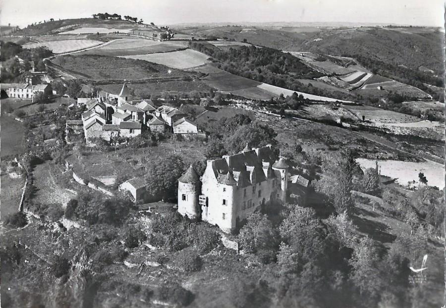 vue sur le bourg de Saint-André